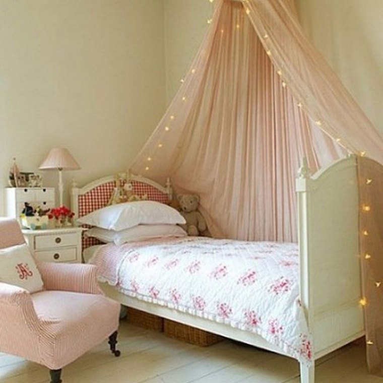 Cozy Bedroom with Bed Tent Canopy for Your Little Princess