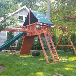 Best Recommendation for Outdoor Swing Sets from Wooden Materials