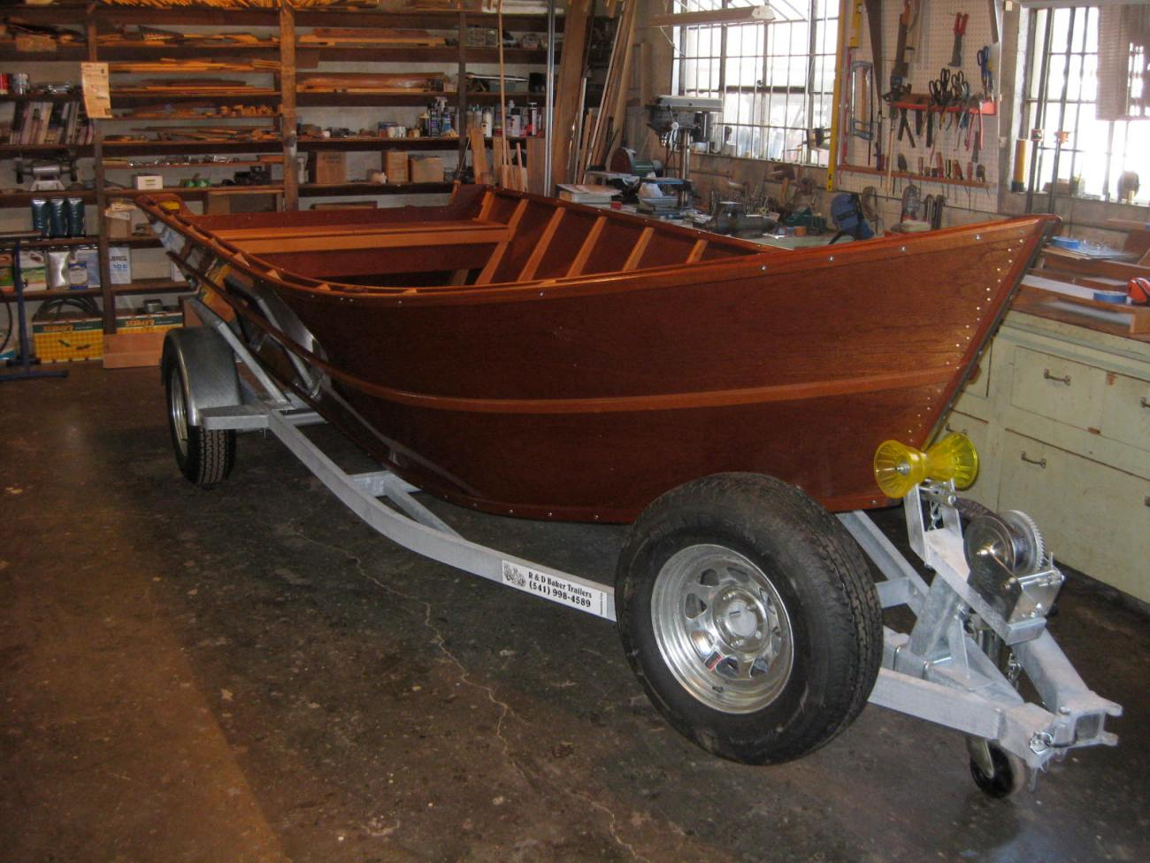 Willamette River Skiff Completely Built