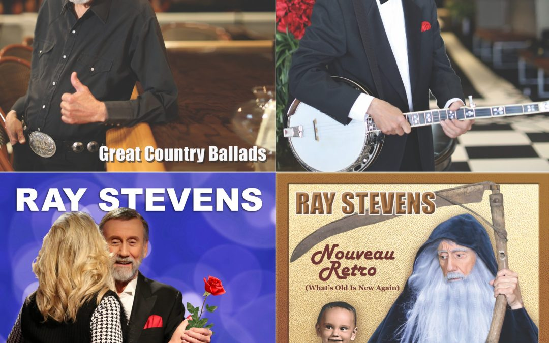 RAY STEVENS  ANNOUNCES FOUR NEW ALBUMS, EACH HIGHLIGHTING  ICONIC SONGS OF THE 20TH CENTURY