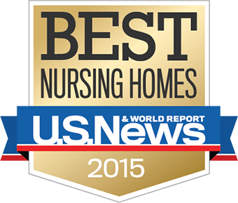 USNEWS Best Nursing Homes 2015 Badge