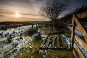 Ireland - winter landscape