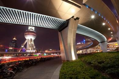 China, Shanghai night
