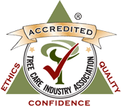 TCIA Accredited Tree Care Company logo