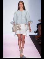 BCBG Max Azria elegance tailored tweed emroiderry sequence print hip funky pop Spring Summer 2014 fashionweek paris london milan newyork nyc-4