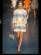 Dolce & Gabbana collection theme roman romanian empire Fashion Week Spring Summer 2014 paris milan london nyc newyork -103