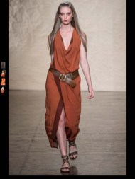 Donna Karen exotic tribal hippie casual fashion week spring summer 2014 milan paris london nyc newyork trend-20
