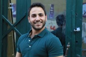 Model ibrahim smiling handsome