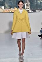 Mustard tailored Blazer classic chic