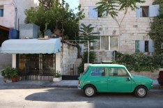Webdeh Area Amman Jordan Urban Green old car