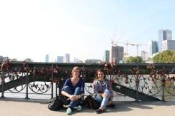 Frankfurt Love Bridge Padlock Bridge