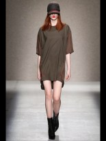above the knee tshirt dress Earth colors ready to wear