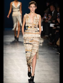 brown color dress Earth colors ready to wear