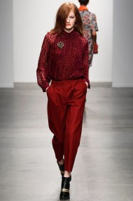 red Head to toe one Mono color winter ready to wear