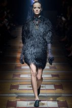 black fur coat Favorite coats for this fall winter 2014 2015 ready to wear collections