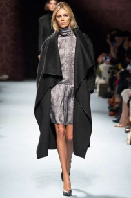 black knee length coat Favorite coats for this fall winter 2014 2015 ready to wear collections