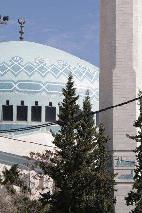 Blue Mosque in Amman Jordan