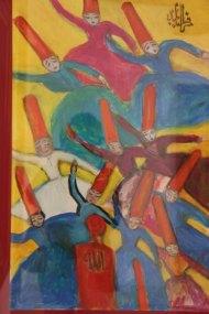Darwish paintings of Rumi