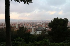 Mountain view of Barcelona
