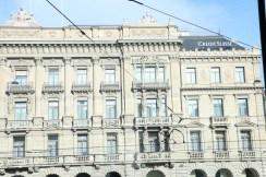 A very old building in Zurich