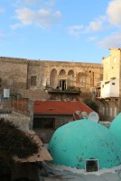 Visiting the old city of Akka Akko in occupied Palestine Israel