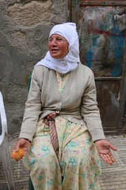 Portrait of an Old woman in Nbalus