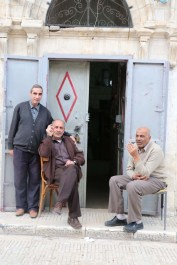 Three Palestinian men from Nablus