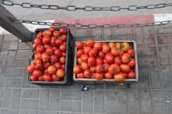 Fresh red tomatoes in Ramalla