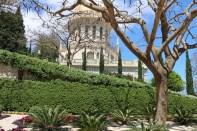 At the Bahá'í gardens and temple in Haifa Palestine, Israel.