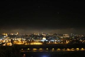 Overlooking all of Jerusalem