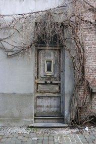 grey, door