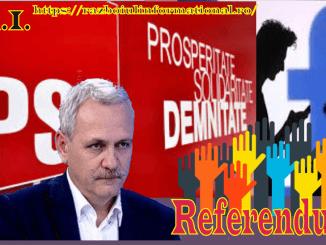 PSD-ul a preluat iniţiativa referendumului