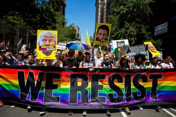New York celebrates annual Gay Pride Parade 1 - Mișcarea #Rezist in lumina noilor acuzații