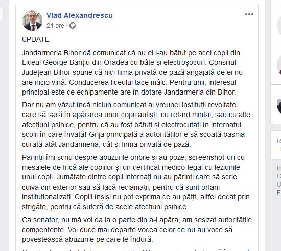 Vlad Alexandrescu declaratia II