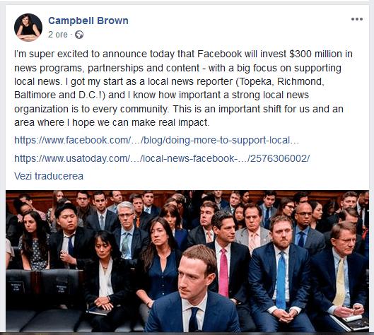 ScreenShot 20190115194902 - Facebook scoate la bătaie 300 de milioane de dolari