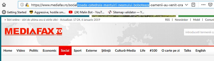 "mediafax fake news - Mediafax prinşi cu ""Fake News"" de Boboteaza"