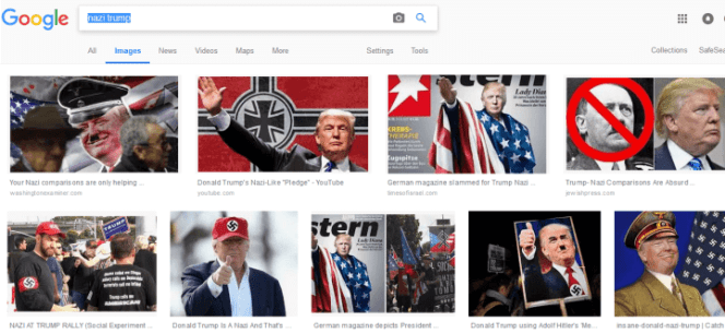 trump nazi - Avem sau nu un președinte nazist ?