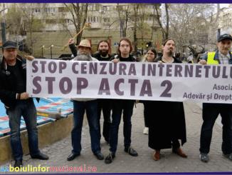 PROTEST COPY - Protest în toate capitalele U.E. împotriva cenzurării internetului