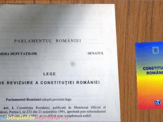 ALERTĂ! Vor să modifice Constituția României 2019