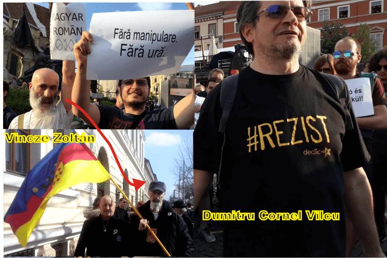 """resist valea uzului - Manipularea cu """"incidentele de la Valea Uzului"""" a ajuns la Cluj"""