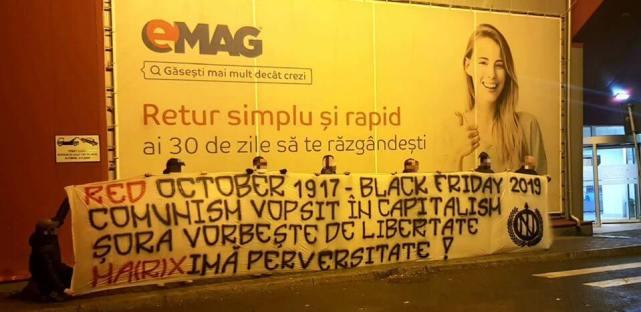Black Friday la Emag - Protest faţă de Emag de Black Friday