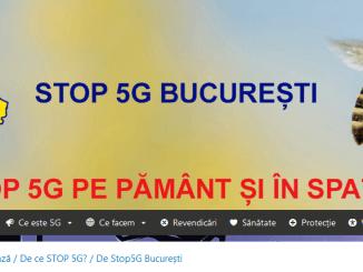 Stop 5G Bucureşti