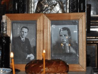 Parastas Moţa şi Marin la Bucureşti