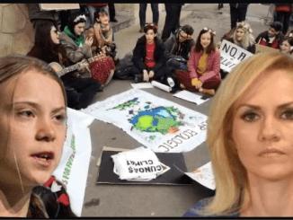 Greta Thunberg & Gabriela Firea