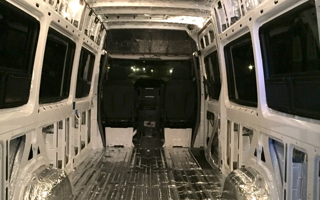 Sprinter Soundproofing and Roof Rails