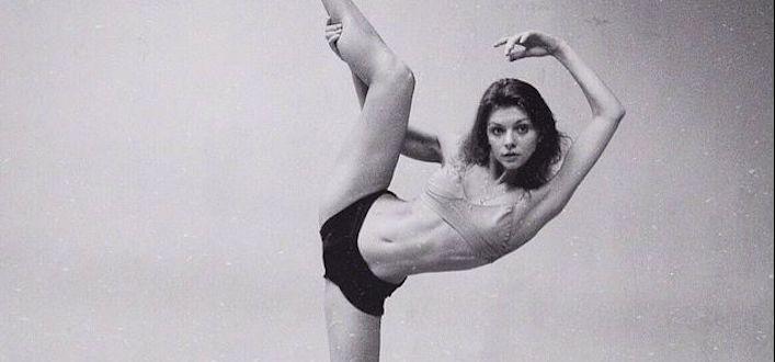 Балерина — немного видео