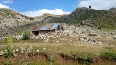 Shepherd's hut at Girdev