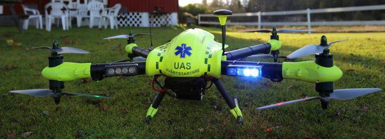 Conheça o drone 'ambulância' que pode salvar vítimas de ataque cardíaco