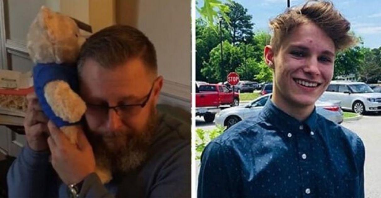 Pai ganha ursinho de pelúcia com gravação de batimentos cardíacos do filho falecido; vídeo