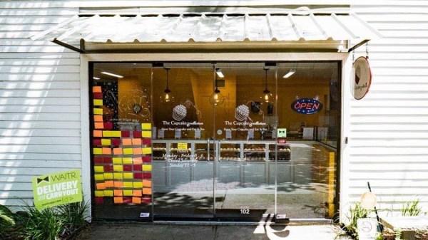 fachada loja cupcakes
